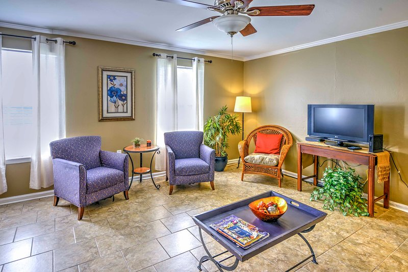 Experience the best of Baton Rouge from this 4-bedroom, 2-bath vacation rental duplex!
