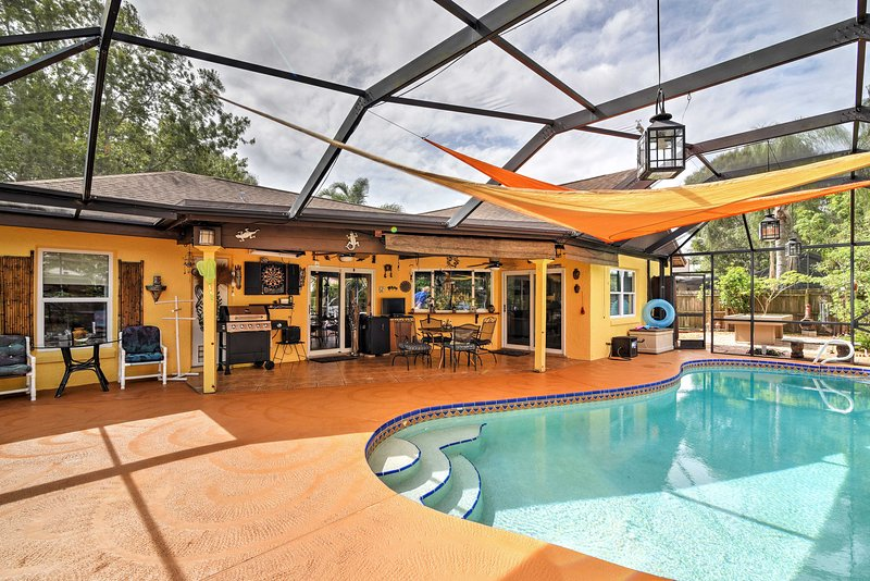 Enjoy Florida's Space Coast when you stay at this vacation rental in Melbourne!