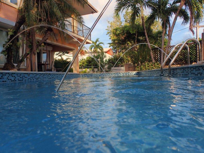 Hermosa nueva piscina instalada de agosto de 2017.