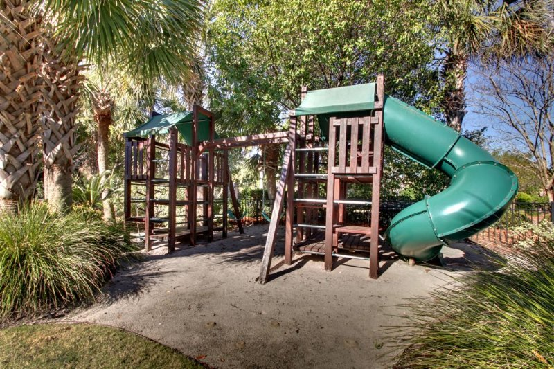 Playground for the kids in the front yard