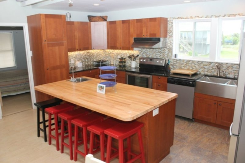 New Kitchen with Oceanviews