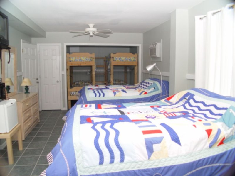 Lower Level Beds in gameroom