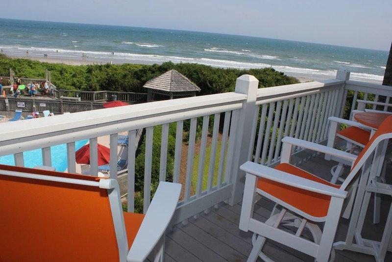 Furnished Deck ~Ocean/Beach Views