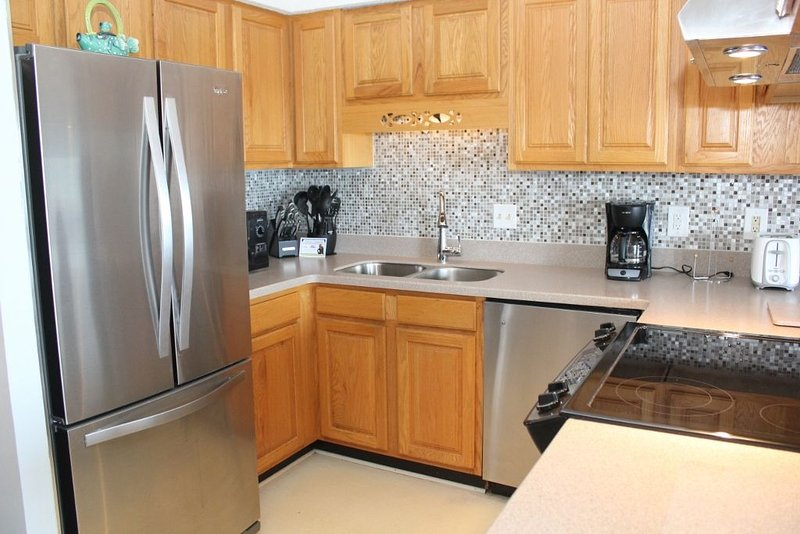 Upgraded Kitchen SS appliances