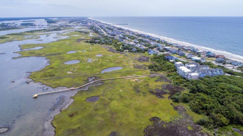 Aerial of Coastal Cay