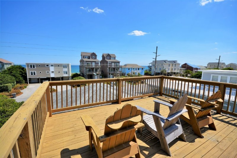 Roof Top Deck with Ocean Views