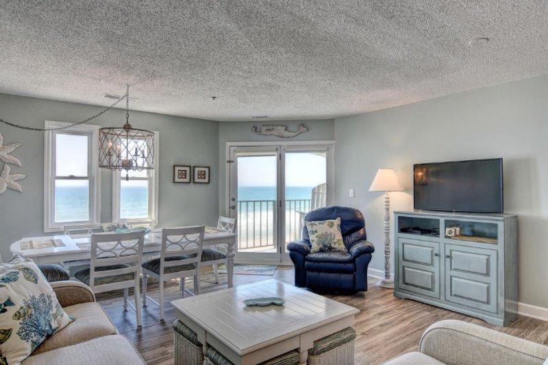 Family Room with Balcony Access