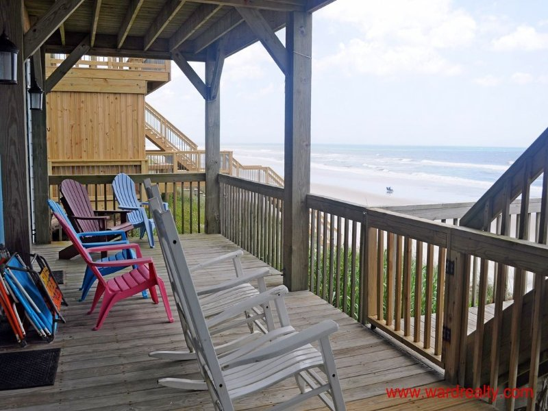 1st Floor Oceanfront Covered Deck II