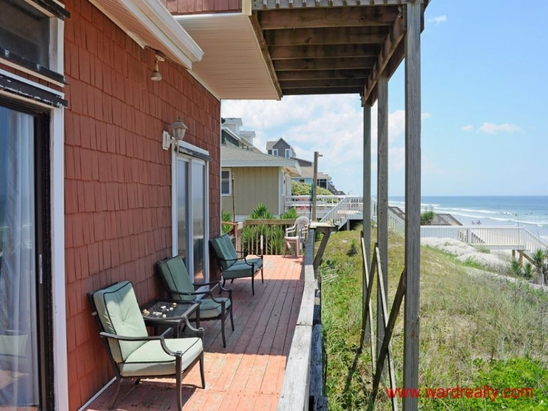 1st Floor Oceanfront Deck (Partially Covered)