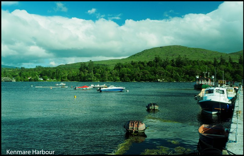 Kenmare harbour