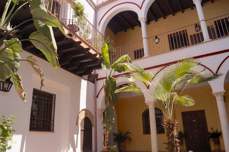 Patio principal/main courtyard