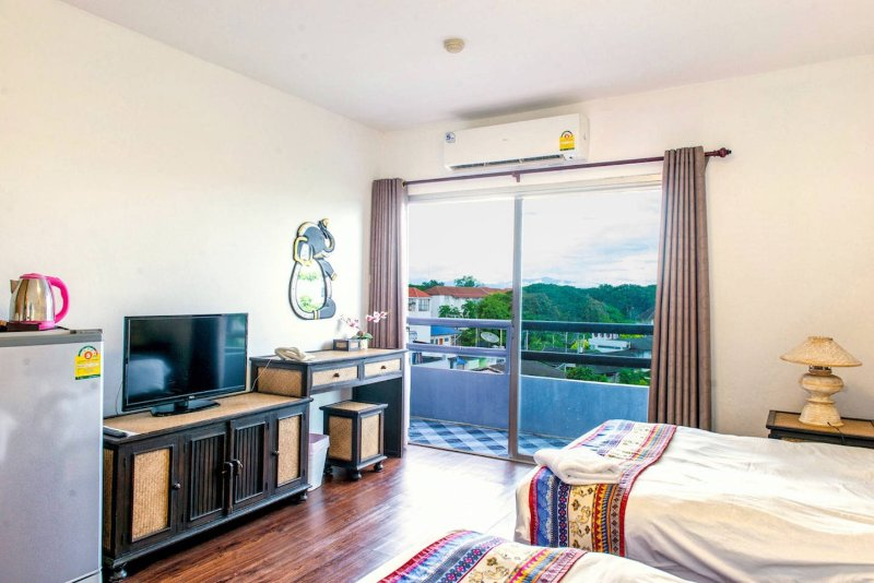 Traditional room with Multimedia and great view
