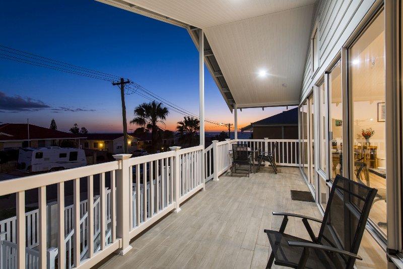 Sunset desde el balcón