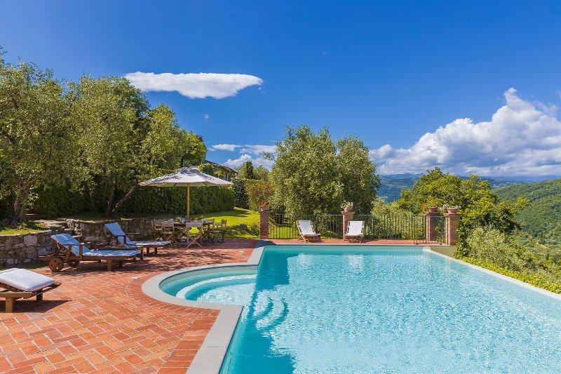 Villa Il Castagno – semesterbostad i Montevettolini