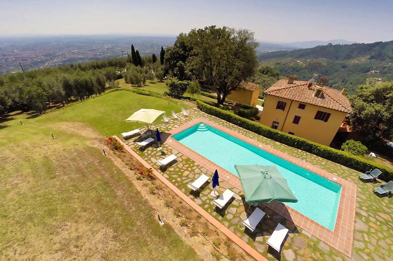 Villa Valdinievole, holiday rental in Chiesina Uzzanese