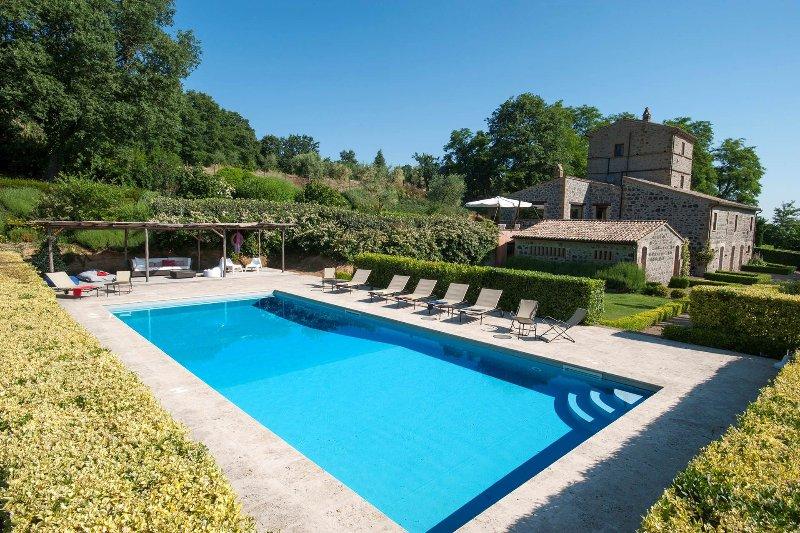 Villa Collombroso, holiday rental in Porano