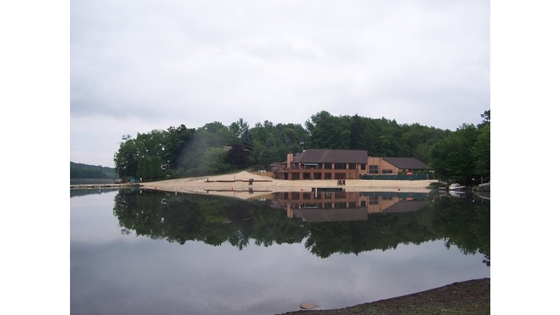 Main beach and lodge.  Fishing, boating, swimming.  Cafe and Tikki bar also located here.