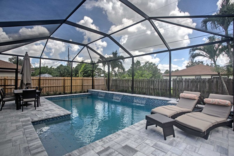 Escape to Florida at this 3-bedroom, 2-bath Naples vacation rental house!