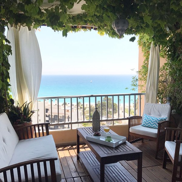 Vanrays - Villa Joyosa -Playa Paraíso-3dorm/2baños-Air cond – semesterbostad i Villajoyosa