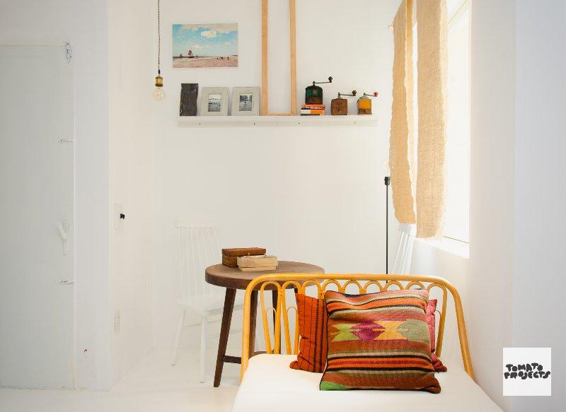 Aparte ruimte binnen master bedroom