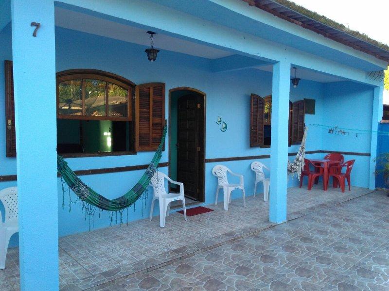 Casa ampla no paraíso Ilha Grande - Excelente localização, casa vacanza a Saco do Ceu