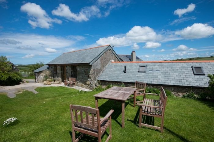 Treganoon Round Barn, holiday rental in Lanivet