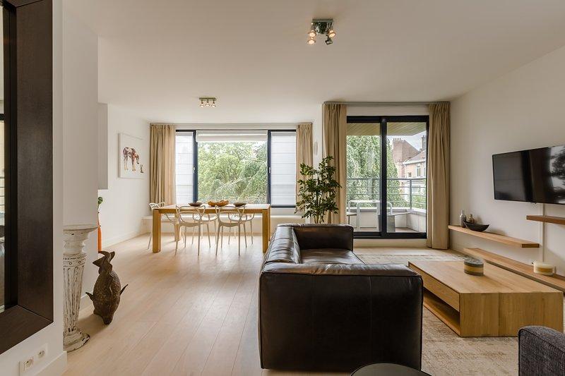 Apt 4 - Nouvel appartement élégant à Bruxelles, location de vacances à Ixelles