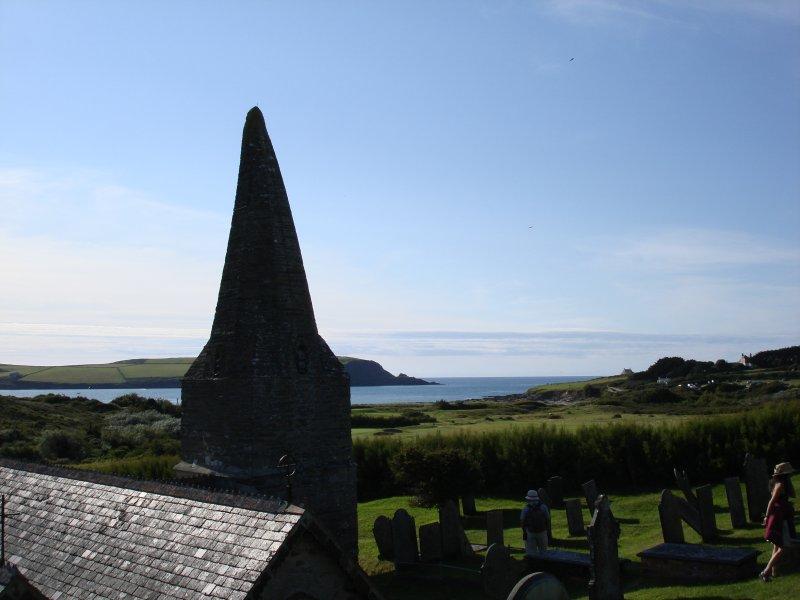 St Enodoc Church - Sir John Betjeman is buried here