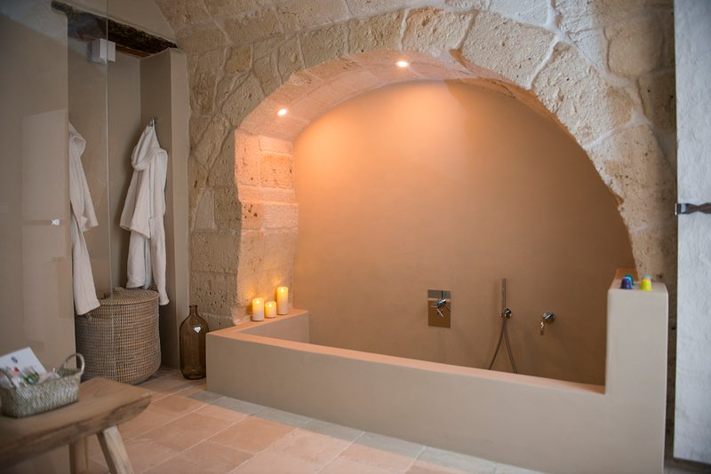 Confortable and relaxing bath