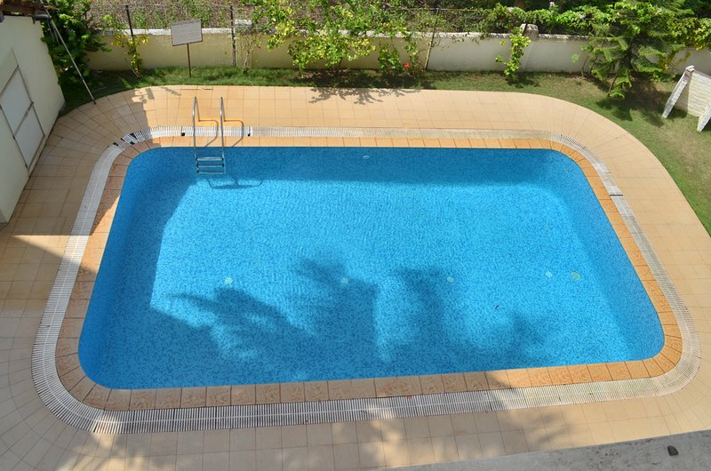 pool view from balcony