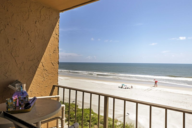 This top-floor, southeast corner unit offers the best views in Sandpiper Condominiums.
