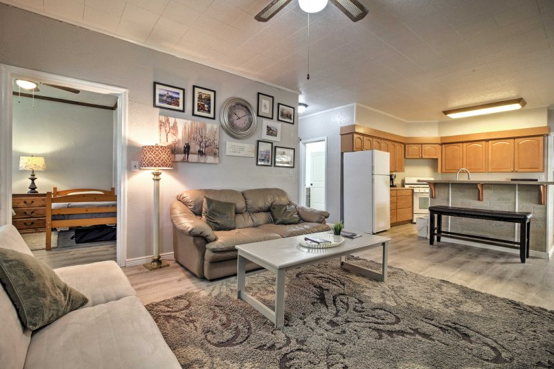 You'll love the spacious open concept layout of the property.