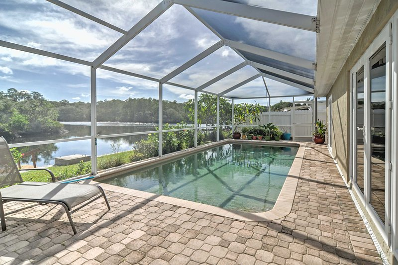 Experience the best of central Florida when you stay at this Holiday vacation rental home!
