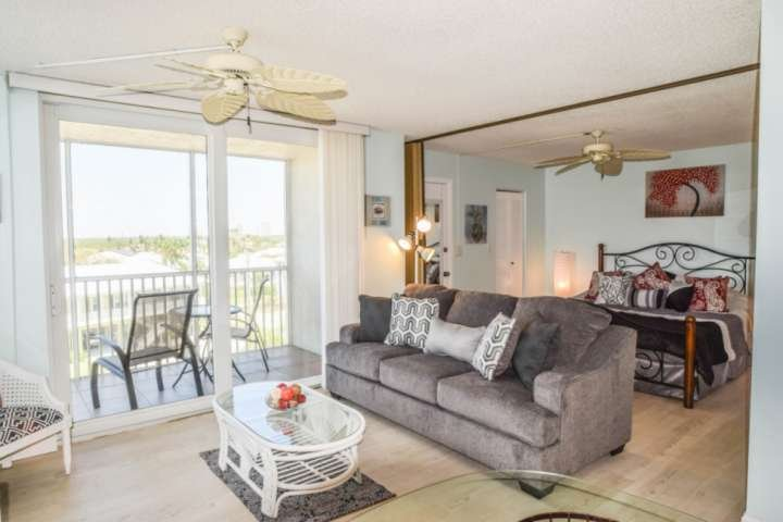 Up to four guests can enjoy a fantastic stay at the beach in this updated studio style condo.