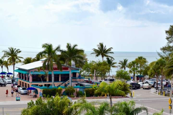 And you are steps away from Doc's, a favorite hangout with the locals, for food on the beach.