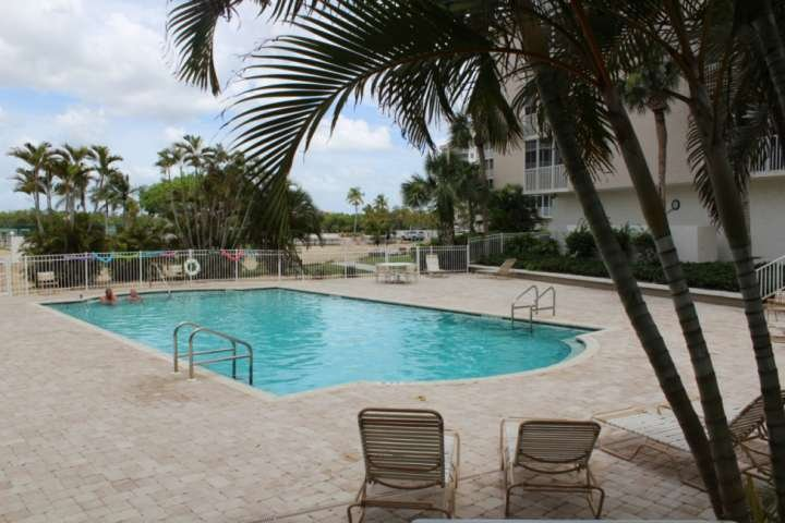 One of two community pools where you can take refreshing swim or sun bathe poolside.
