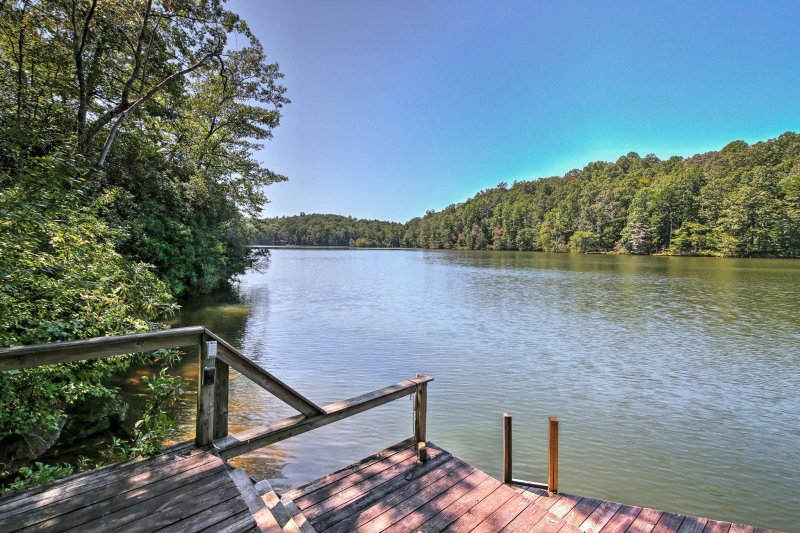 Spend your days swimming in the lake or catching some rays on the dock!