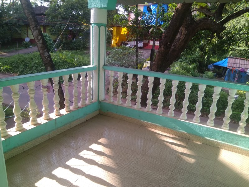 Private balcony and road view