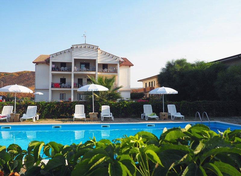 Residence Barko Trilocale, vakantiewoning in Sellia Marina