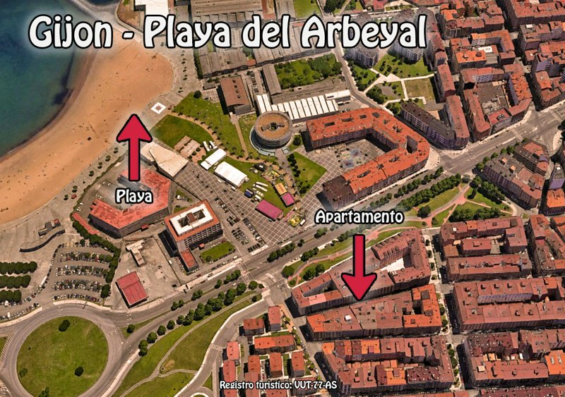 GIJON (LA CALZADA) - PLAYA DEL ARBEYAL, location de vacances à Gijón