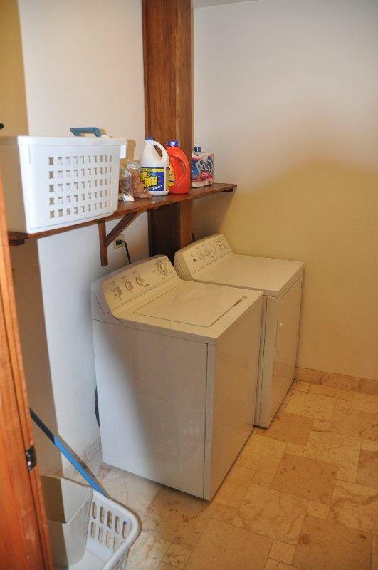 linge, lave et sèche-linge