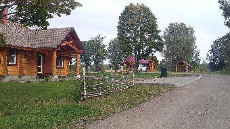 Case nella regione di Smolensk in Russia.