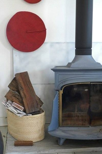 Winter Fire place