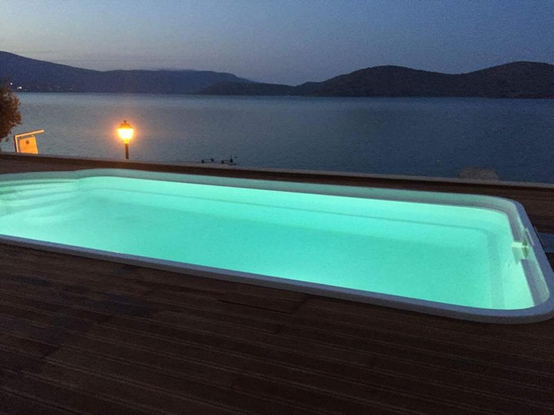 Luxury New Villa Central Elounda - Spinalonga View, holiday rental in Elounda