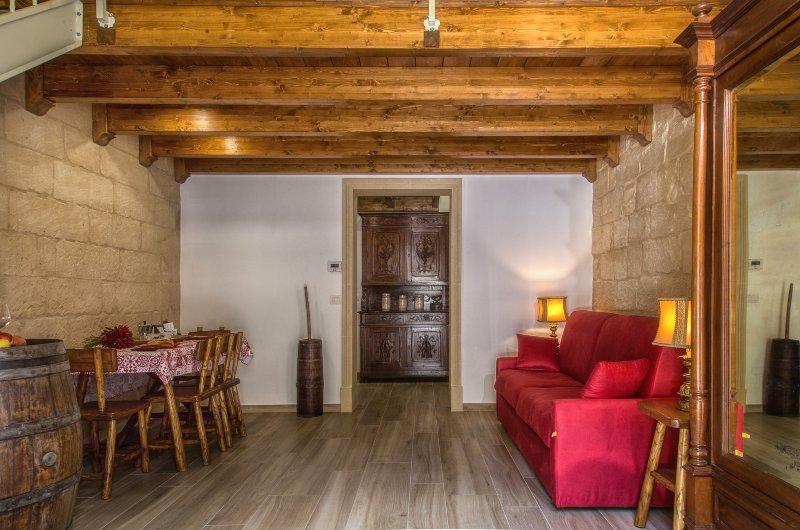 salón / comedor / sofá cama