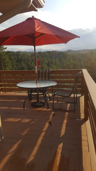 Mountain Vacation Home Located In Turkey Rock Has Patio