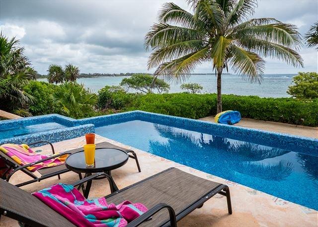 Pool with Ocean Views