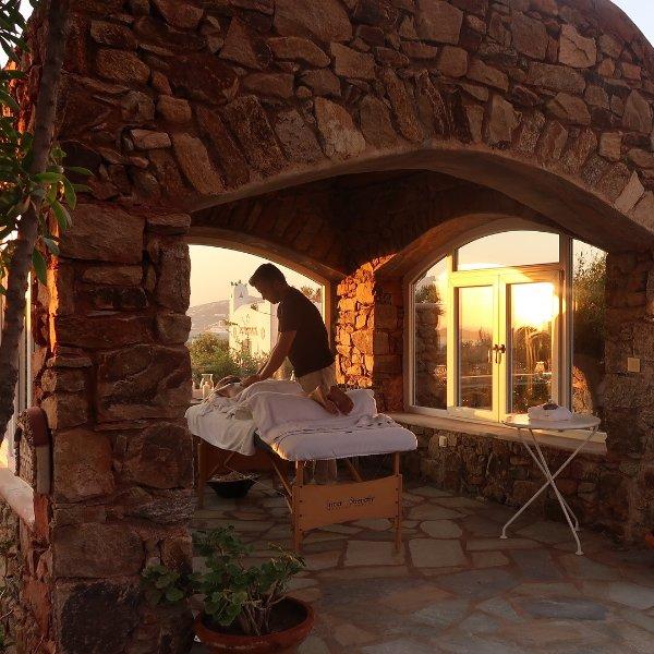 Massage Area in the garden