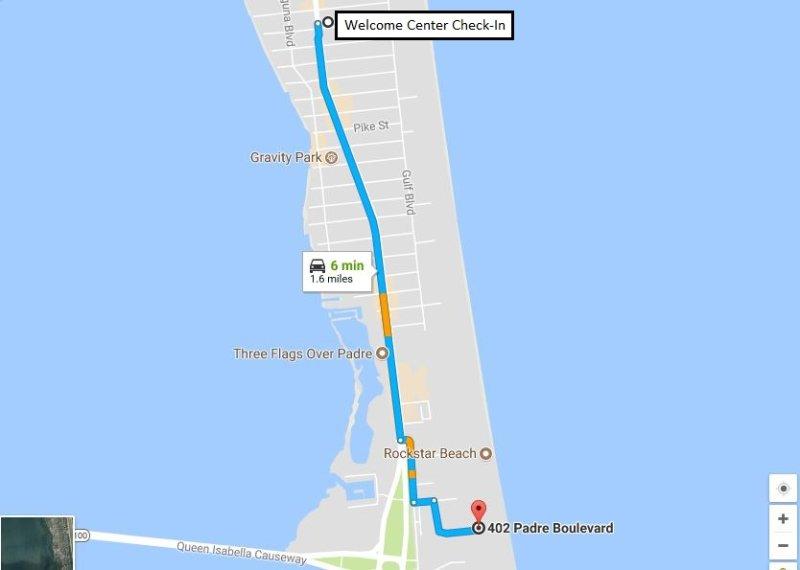 Karte zu Saida II von Welcome Center