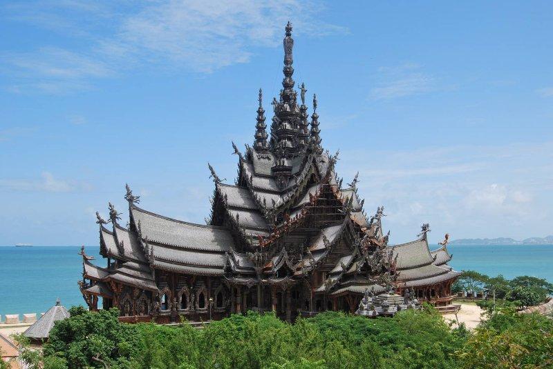 Santuário do templo da verdade